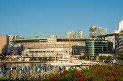 Etihad Stadium in Melbourne Docklands Royalty Free Stock Image