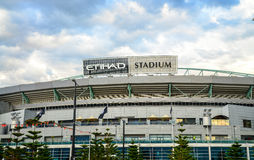 Etihad stadium melbourne Stock Photography