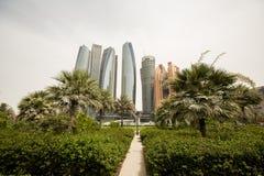 Etihad-Türme in Abu Dhabi Lizenzfreie Stockfotos