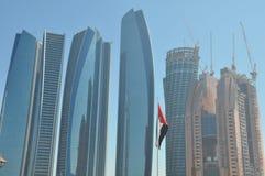 Etihad-Türme in Abu Dhabi, UAE Lizenzfreie Stockfotos