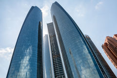Etihad Towers in Abu Dhab Royalty Free Stock Images