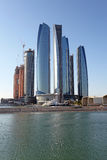 Etihad Towers in Abu Dhabi Royalty Free Stock Photography