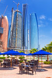 Etihad Towers buildings in Abu Dhabi, UAE Royalty Free Stock Photo