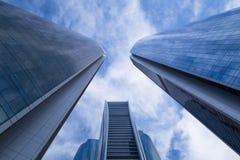 Etihad Towers buildings in Abu Dhabi, UAE Royalty Free Stock Image