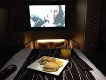 Etihadluchtroutes A330 Royalty-vrije Stock Foto
