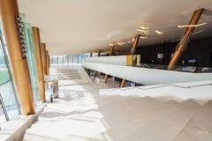 Etihadmuseum in Doubai, de V.A.E stock fotografie