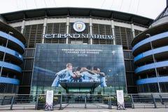 Etihadstadion van de Stad van Manchester royalty-vrije stock afbeelding