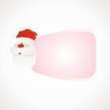Etiket Santa Claus Vector Illustratie