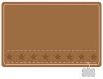 Etiket van de Naam van de Halsband van het land het Westelijke Stock Foto's