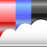Etiket voor tekstontwerp vector illustratie