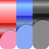Etiket voor tekstontwerp royalty-vrije illustratie