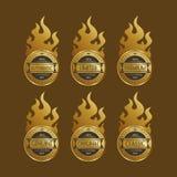 Etiketsticker Royalty-vrije Stock Afbeelding