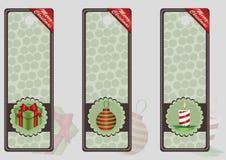 Etikett 2015 för glad jul Stock Illustrationer
