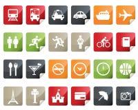 etikett för shopping för online-set för symbolsinternetlaboratorium stock illustrationer