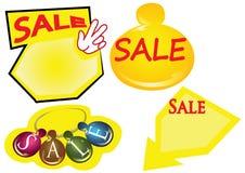 Etikett Sale Royaltyfri Bild
