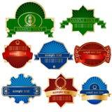 Etiketten Royalty-vrije Stock Afbeelding