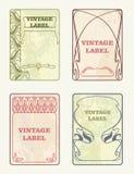 etiketten Royalty-vrije Stock Afbeeldingen
