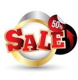 etiketter för tillbehörmodeförsäljning Sale baner Fotografering för Bildbyråer