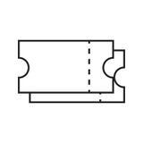 Etiketterar symbolen Plan illustration för vektor Fotografering för Bildbyråer