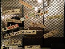 Etikettieren von Wörtern Lizenzfreies Stockbild