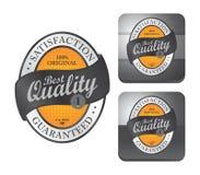 Etikettklistermärke Arkivbilder