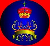etikettprydnadband Royaltyfri Bild