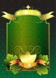 etiketttappning Royaltyfri Bild