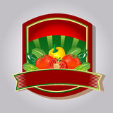 Etiketttomatketchup Fotografering för Bildbyråer
