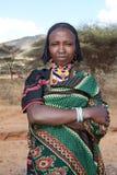 Mujer africana en ropa tradicional imagen de archivo libre de regalías