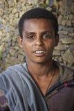 Etiopía: Retrato de un adolescente etíope. Imagen de archivo