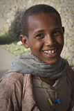 Etiopía: Retrato de un adolescente etíope. Fotografía de archivo