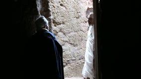 Etiopia, Lalibela, Styczeń 2015, Dwa michaelita opowiada each inny zbiory