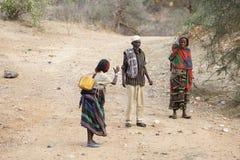 Afrikanskt folk Royaltyfri Foto