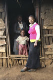 Etiopisk familj fotografering för bildbyråer