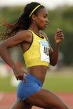 Etiopisk idrottsman nen Genzebe Dibaba Arkivbild