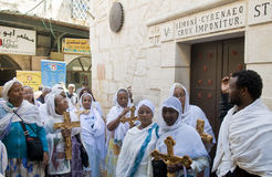 Etiopisk långfredag Arkivfoton