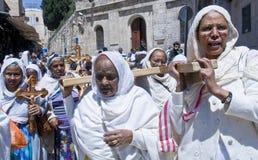 Etiopisk långfredag Arkivbilder