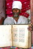 Etiopisk präst Arkivbilder