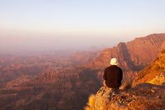 Etiopiska berg fotografering för bildbyråer