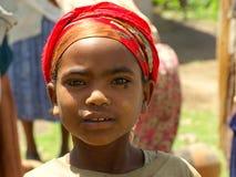 Etiopiskt folk och framsidor Arkivfoton