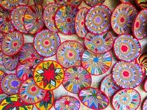Etiopscy handmade Habesha kosze sprzedawali w Axum, Etiopia Zdjęcie Stock