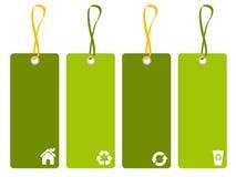 Etiqueta ambiental stock de ilustración