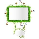 Etiqueta com espaço para o texto Imagem de Stock