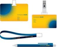 Etiqueta conocida para la tarjeta de la identificación Fotografía de archivo libre de regalías