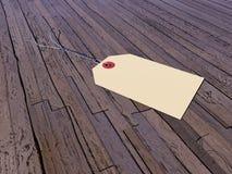 Etiqueta - 3D rinden Imágenes de archivo libres de regalías