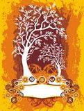 Etiqueta da árvore Fotografia de Stock Royalty Free