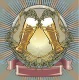 Etiqueta da cerveja Imagem de Stock Royalty Free