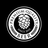 Etiqueta da cerveja do vintage Imagem de Stock Royalty Free