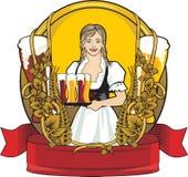 etiqueta da cerveja, festival da cerveja Imagens de Stock Royalty Free