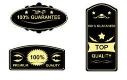 Etiqueta da garantia Imagens de Stock Royalty Free